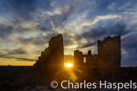 Hovenweep, sunset, HovenweepCastle, AncestralPuebloan, Anasazi,Utah