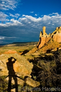 Charles Haspels Photographer Ghost Ranch, New_Mexico self-portrait