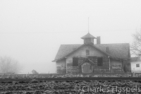 Old-School-in-Fog-Interstate-84-Idaho